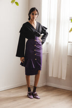 Load image into Gallery viewer, Ruby Skirt in Black Twill