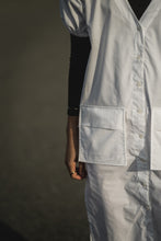 Load image into Gallery viewer, Rupert Dress in White Poplin