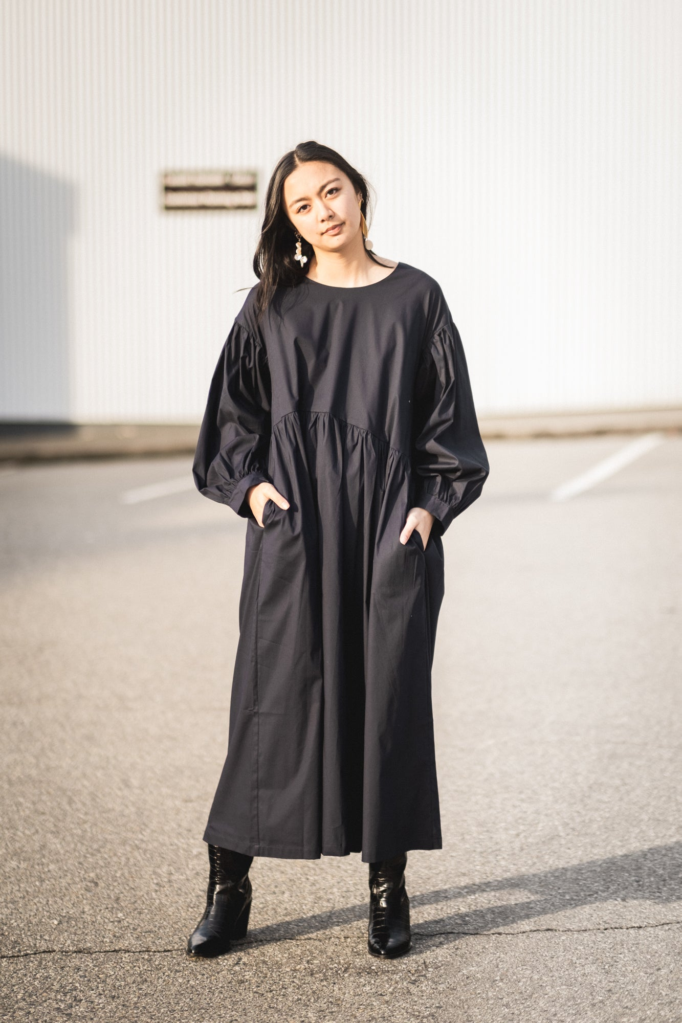 Jayme Dress in Black