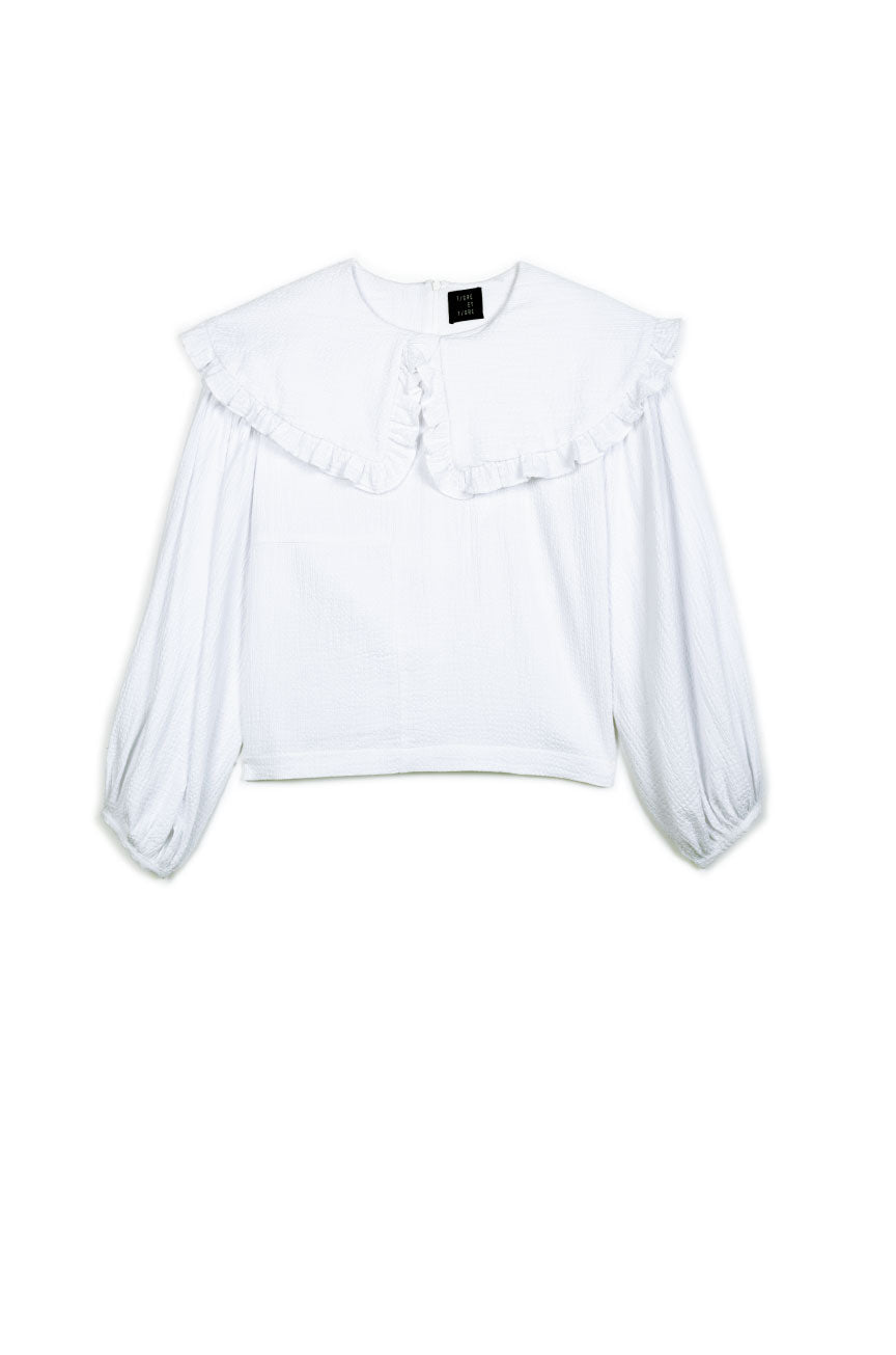 Faithe Top in White