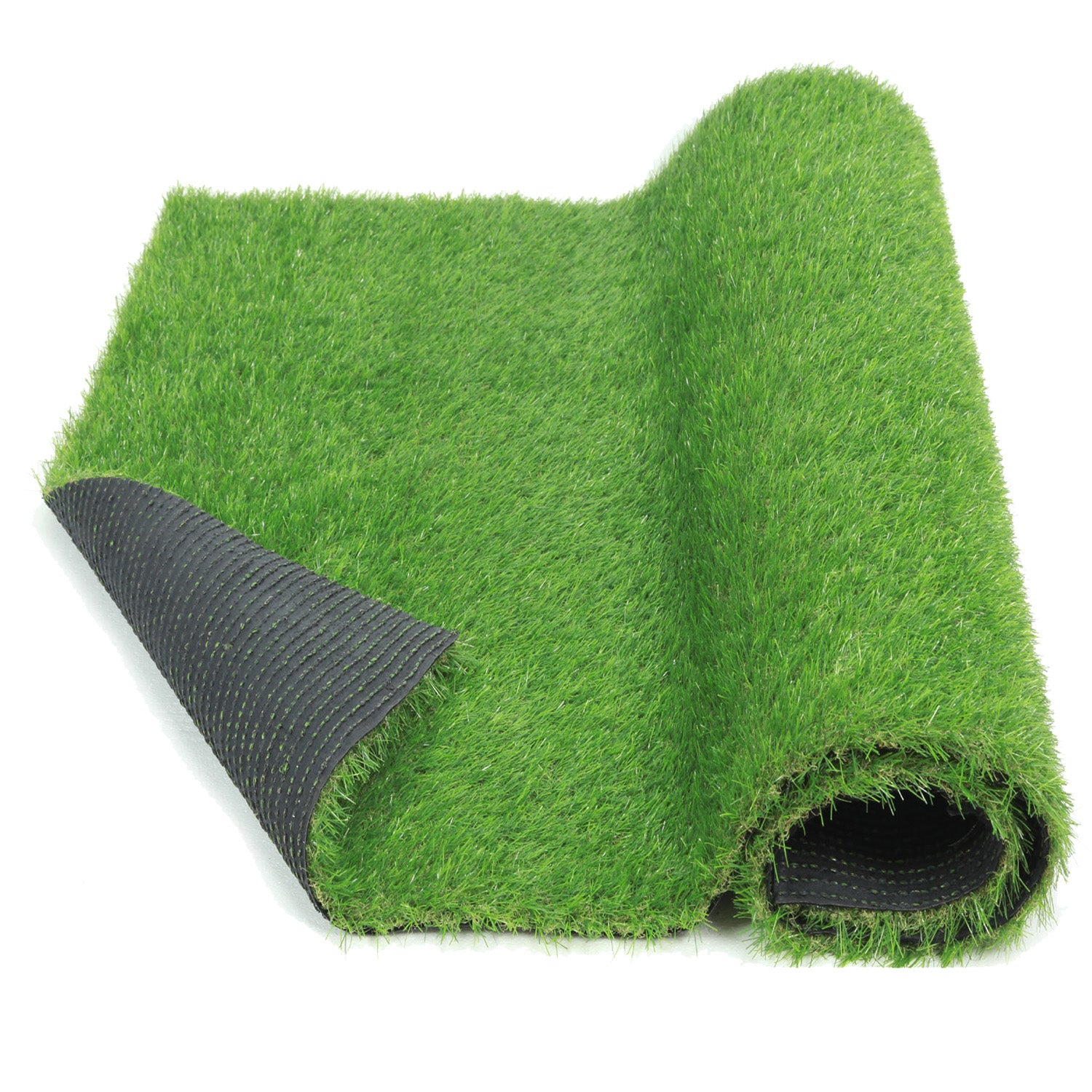 Eco Matrix Artificial Grass Rug Fake Grass Carpet Green Lawn Mats Realistic Indoor Outdoor Grass Runner Landscape Synthetic Grass Turf For Dog