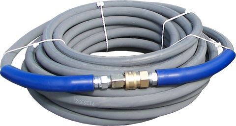 "50' Gray 3/8"" High Pressure Line - 6000 PSI"
