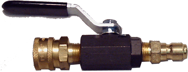 Ball Valve with Quick Connect