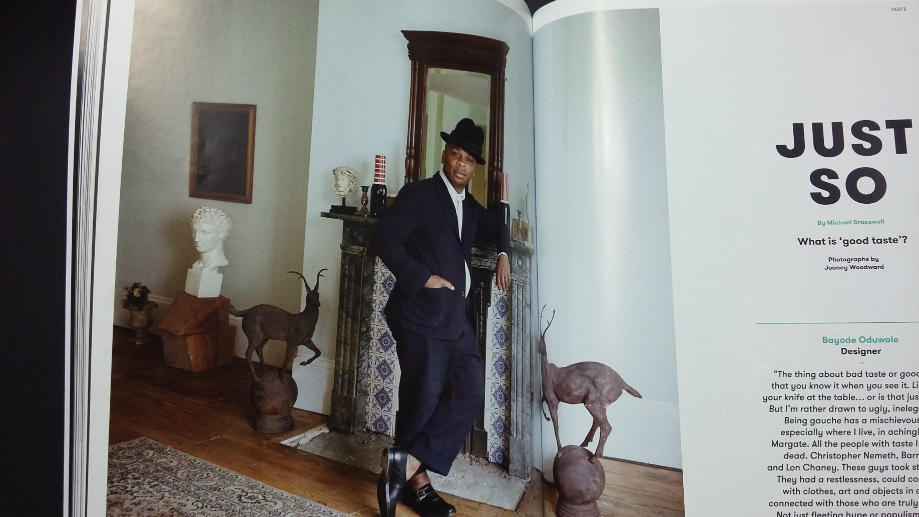 Esquire Black Book feature Pokit designer Bayode Oduwole