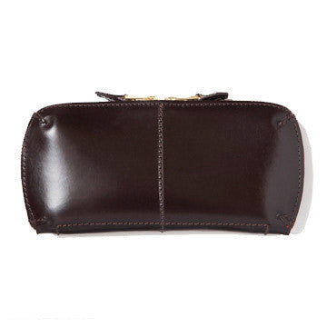 LEATHER WALLET (L) brown