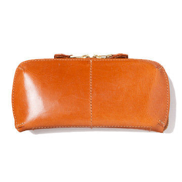 LEATHER WALLET (L) tan