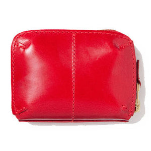 LEATHER WALLET (S) red