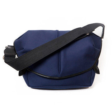 CANVAS CAPSULE (M) BAG navy