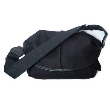 CANVAS CAPSULE (S) BAG black