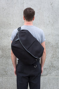 CANVAS CAPSULE (L) BAG black