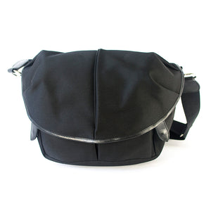 CANVAS CAPSULE (M) BAG black