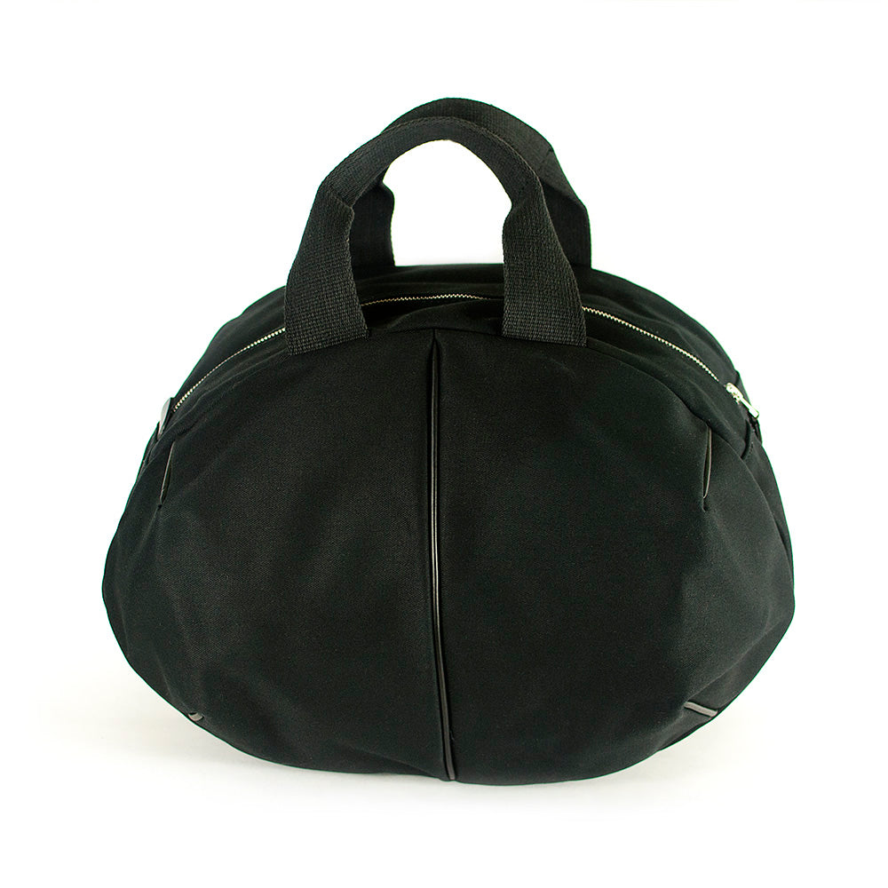 CANVAS HOLDALL BAG black