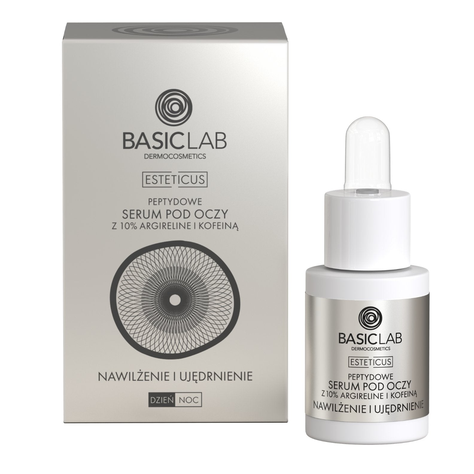 BasicLab Peptide Eye Serum with Argireline 10% 15ml - BasicLab