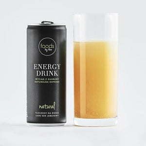 Naturalne Kosmetyki UK Foods by Ann Natural Energy Drink 250ml