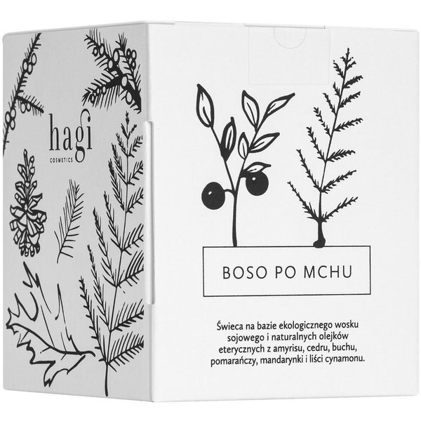 Hagi Cosmetics Barefoot on the moss Soy Candle 230g - Hagi Cosmetics