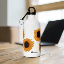Load image into Gallery viewer, Sunflower  Water Bottle