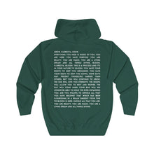 Load image into Gallery viewer, Matilija Poppy Florecita Poem Zip Hoodie