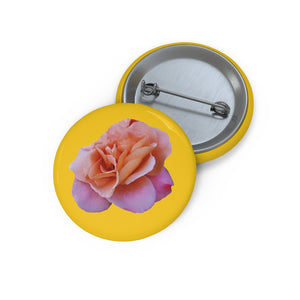 Rose button  Pin