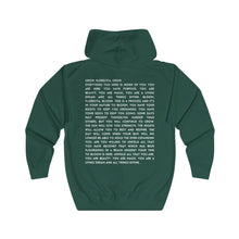 Load image into Gallery viewer, Sunflower Florecita Poem  Zip Hoodie