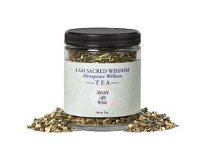 I AM WISDOM ~ menopause wellness tea