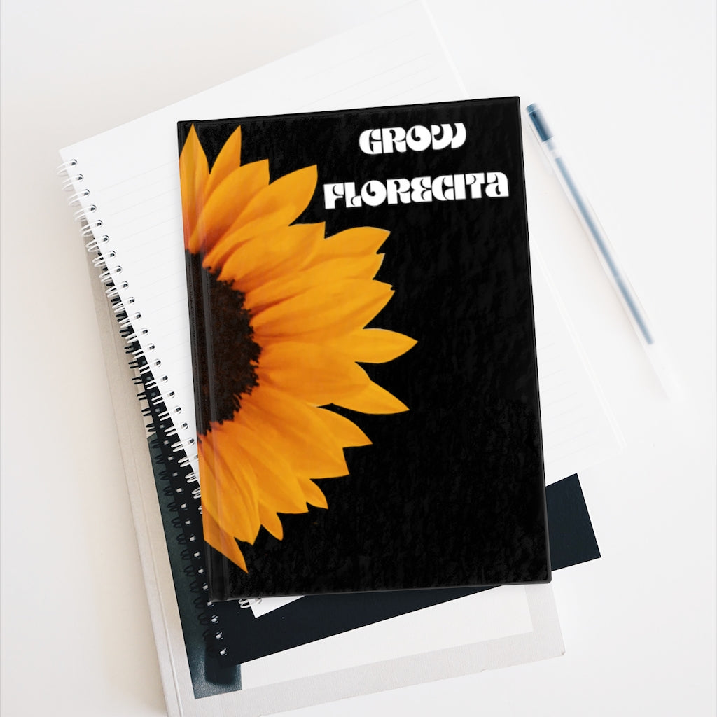 Sunflower  - Blank journal