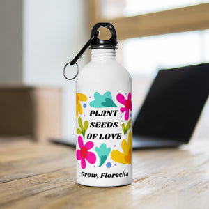 Plant seeds  Water Bottle