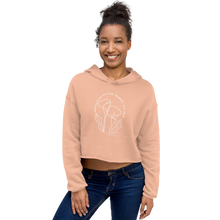 Load image into Gallery viewer, CALLA LILY cropped Hoodie