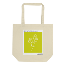 Load image into Gallery viewer, Chamomile eco tote bag