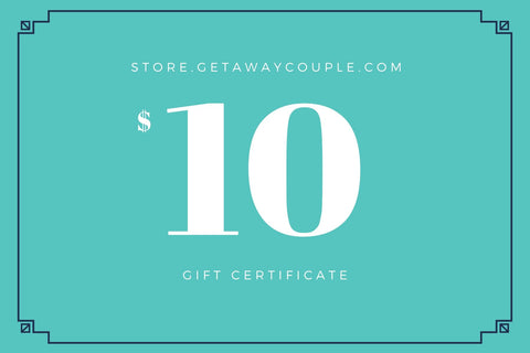 Getaway Couple Gift Card