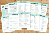 Preparing to RV Bundle || 32 Pages