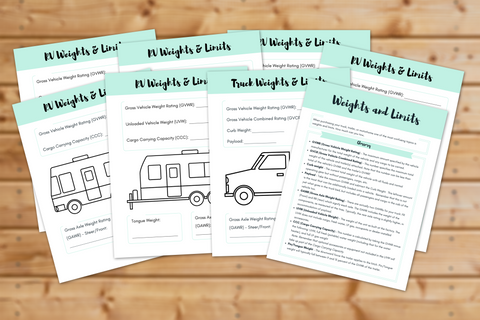 Weights and Limits Workbook || 8 Pages