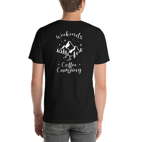 Back of T-Shirt - Weekends Coffee Camping
