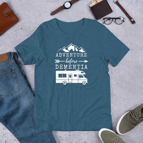 Adventure Before Dementia T-Shirt - Motorhome