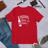 Official Campsite Wine Tester T-Shirt