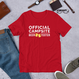Official Campsite Beer Tester T-Shirt