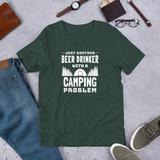 Beer Drinker with a Camping Problem T-Shirt