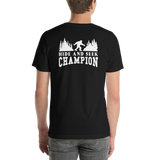 Back of T-Shirt - Hide and Seek Champion