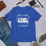 Home Is Where You Park It T-Shirt - Class C RV