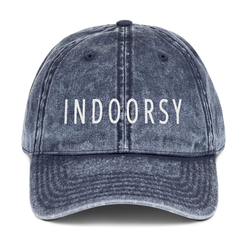 Indoorsy Vintage Cotton Cap