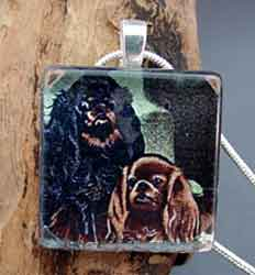 Toy Spaniel Necklace Dog Breed Jewelry
