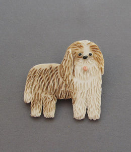 Dog Pin Old English Sheepdog Bearded Collie