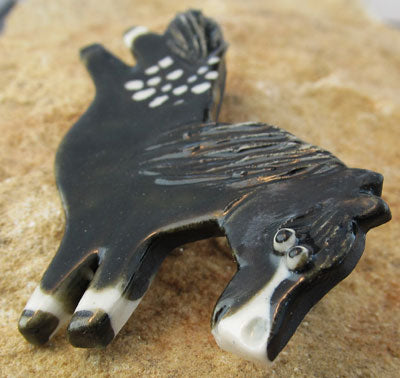 Appaloosa Horse Pin Brooch Equestrian Jewelry