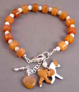 Basenji Dog Breed Bracelet Handcrafted Jewelry