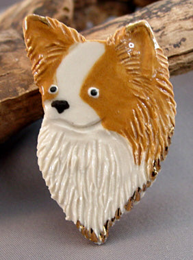 Chihuahua Pin Brooch Dog Breed Jewelry
