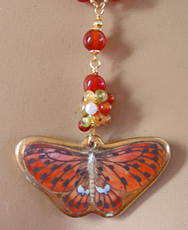 Butterfly Dreams Necklace Romantic Symbol Jewelry