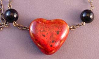 Love at First Sight Necklace Romantic Heart Jewelry