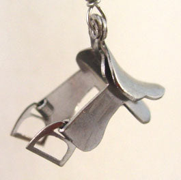 Equestrian Jewelry Pendant Dressage English Saddle Equestrian Horse Lover Jewelry