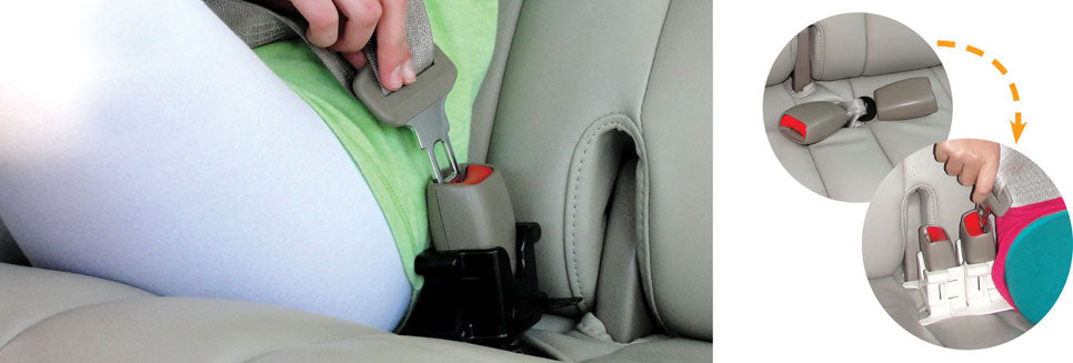 MyBuckleMate Seat Belt Buckle Holders - Make Buckling Up Easy!