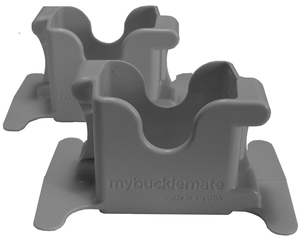 MyBuckleMate - Gray (2-Pack)