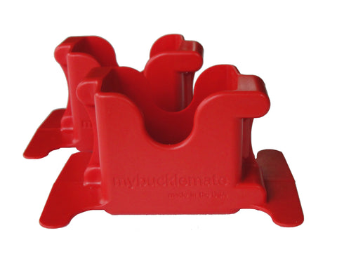 MyBuckleMate - Red (2 Pack)